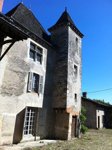 Château de Sancé - vue cour sud - 2011 (Avant travaux Commune)