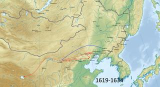 Chahar-Jurchen War