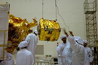 Moon Impact Probe lunar probe released by Chandrayaan-1 lunar remote sensing orbiter