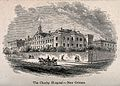 Charity Hospital, New Orleans, Louisiana. Wood engraving. Wellcome V0013990.jpg