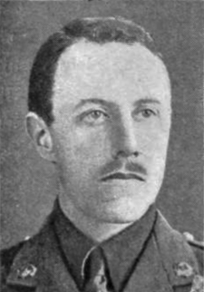 Charles Calveley Foss Recipient of the Victoria Cross