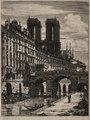 Charles Meryon - Etchings of Paris- Le Petit Pont - 1953.10 - Cleveland Museum of Art.tif