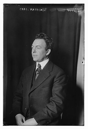 Charles W. Harrison - Harrison in 1918