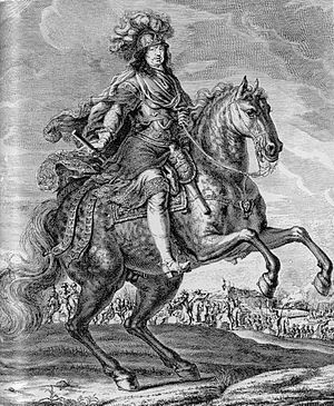 Charles X Gustav of Sweden - Charles X. Engraving after a painting by David Klöcker Ehrenstrahl