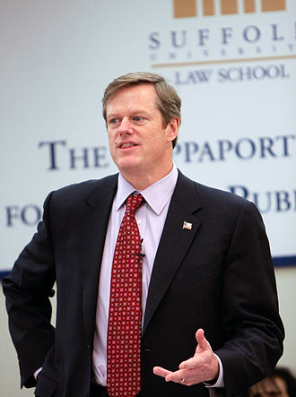 Charlie Baker - Baker at the Rappaport Center for Law and Public Policy at Suffolk University Law School on February 4, 2010.