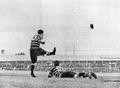 Charlie Adamson kicks goal in Rugby Union game, Brisbane, 1899.png