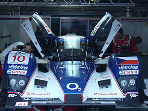 Charouz Racing System - Charouz's Lola B08/60-Aston Martin which the team campaigns in the Le Mans Series