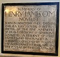 Chelsea Old Church, Henry James memorial.jpg