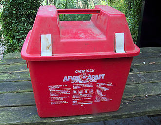 Chemical waste - Chemical Waste Bin (Chemobox)