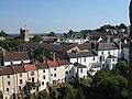 Chepstow - the backs of houses in Bridge Street - geograph.org.uk - 484061.jpg