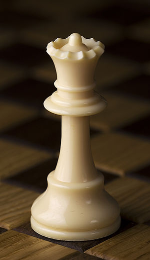 Queen (chess) - White queen