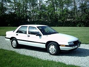 Chevrolet Corsica - Image: Chevrolet Corsica 1994