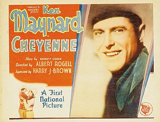 Cheyenne (1929 film) - Lobby card