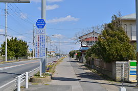 自転車道 千葉県 自転車道 : ... 号九十九里一宮大原自転車道線