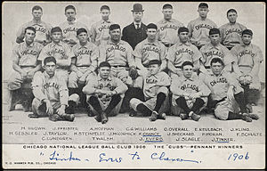 1906 Chicago Cubs season - The 1906 Cubs won a record 116 of 154 games.