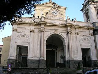 Castellammare Cathedral Church in Campagnia, Italy