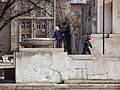 Children playing near the monument at the central square - panoramio.jpg