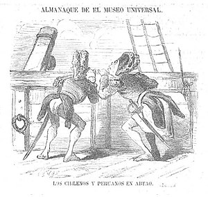 Guerra Hispano Sudamericana Wikipedia La Enciclopedia Libre