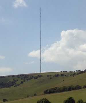 Chillerton Down transmitting station - Image: Chillerton Down.2