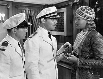 China Seas (film) - Publicity still with Gable (center)