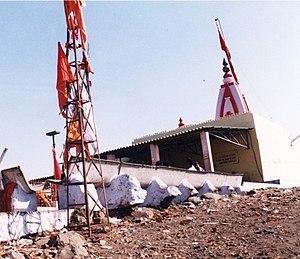Chotila -  Temple of Chamunda Mata on Chotila hill
