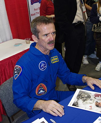 Chris Hadfield - Chris Hadfield in 2012