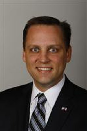 Chris Hagenow - 84th General Assembly portrait (2011)