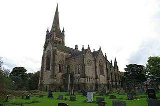 Christ Church, Walshaw Church in Greater Manchester, England