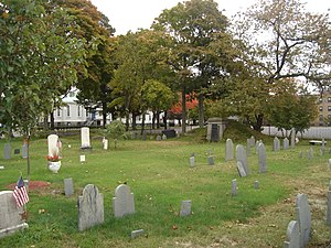 Christ Church Burial Ground (Quincy, Massachusetts) - Image: Christ Church Burial Ground Quincy MA