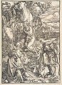 Christ on the Mount of Olives, from The Large Passion MET DP816594.jpg
