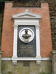památník Christiana d'Elverta