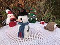 Christmas Crochet Santa's Post Box, Inverkip 5.jpg
