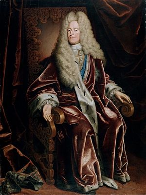 Anthony Ulrich, Duke of Brunswick-Wolfenbüttel - Portrait by Christoph Bernhard Francke