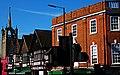 Church 'n' Bank, God and mammon, SUTTON, Surrey, Greater London - Flickr - tonymonblat.jpg
