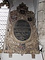 Church of St John, Finchingfield Essex England - north chapel Kempe memorial.jpg