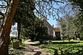 Church of St Martin White Roding Essex England - from the east.jpg