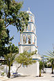 Church tower - Kamari - Santorini - Greece - 01.jpg