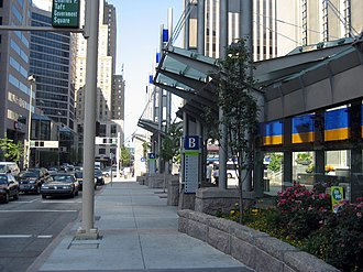 Southwest Ohio Regional Transit Authority - Located on Fifth Street between Walnut and Main in Cincinnati, Government Square serves as Metro's downtown transit hub