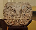 Circular Plaque Showing Surya with Family - Circa 9th Century CE - Churi Wali Street - ACCN 68-1 - Government Museum - Mathura 2013-02-23 5163.JPG