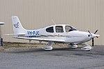 Cirrus SR20 (VH-PJC) at the Wagga Wagga Aero Club open day.jpg
