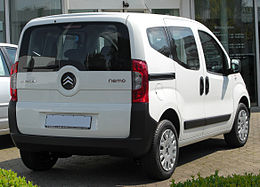 Citroën Nemo Combi Comfort Plus 1.4 Multispace rear 20100711.jpg