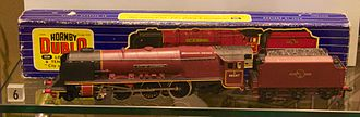 Hornby Railways - Hornby Dublo model of an LMS ''Coronation'' locomotive City of Liverpool