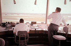 Air traffic controller - Civilian air traffic controllers, Memphis International Airport, 1962