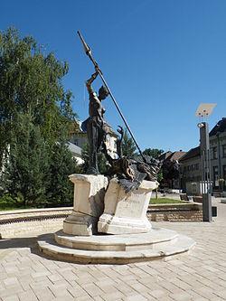 Civitas Fortissima emlékmű.JPG