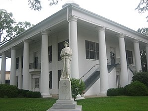 Claiborne Parish Courthouse in Homer, gelistet im NRHP Nr. 81000291[1]