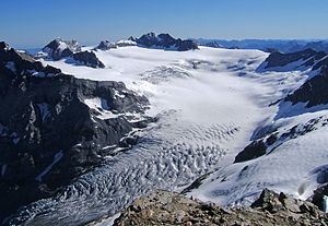 Hüfi Glacier - Upper glacier