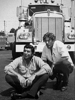 Claude Akins Frank Converse Movin On 1974.JPG