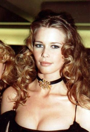 Claudia Schiffer - Schiffer at the 18th César Awards in Paris, March 1993
