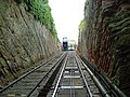 Cliff Railway from Low Town to High Town, Bridgnorth, Shropshire - geograph.org.uk - 261.jpg