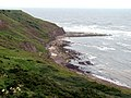 Cliffs looking to Scarborough - geograph.org.uk - 469134.jpg
